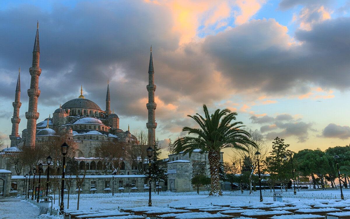 Стамбул зимой